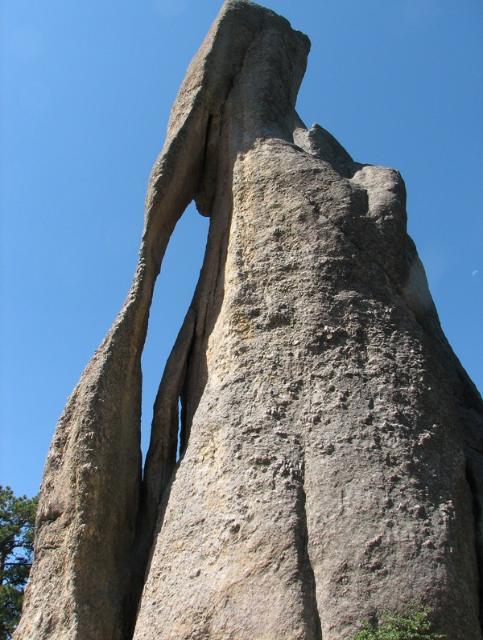 Sky Piercing Granite Spires On Needles Mountain In South