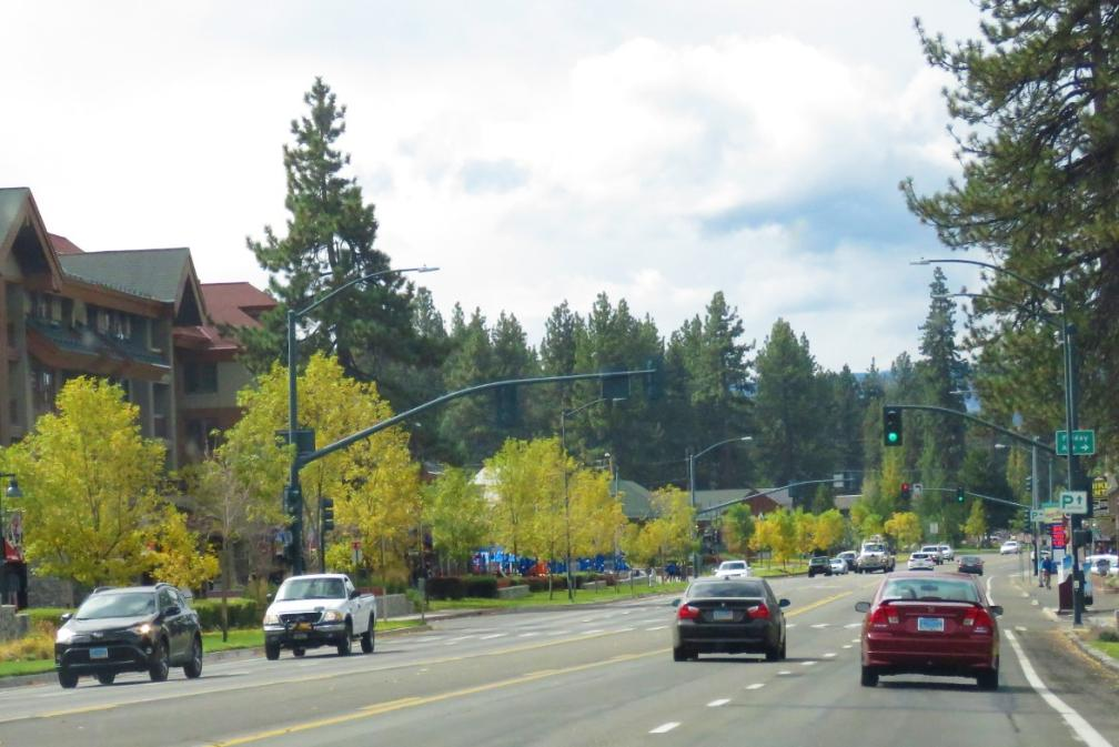 Fantastic Fall Colors in Eastern Sierra in California