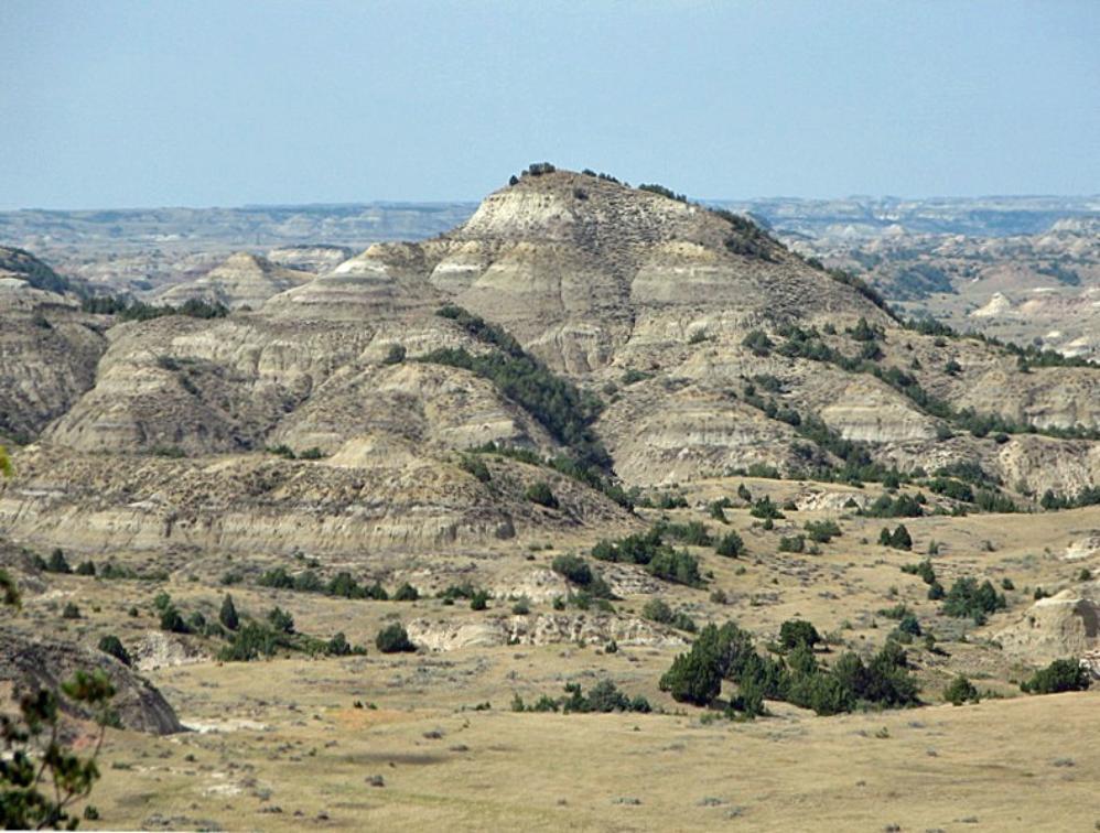 Theodore Roosevelt National Park in North Dakota USA