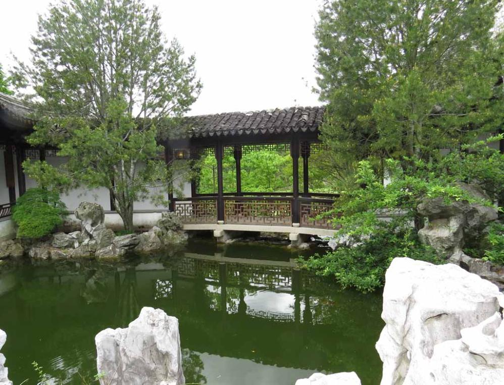 The New York Chinese Scholar S Garden 寄興園 Is A Part Of Staten Island Botanical Located In Snug Harbor Cultural Center