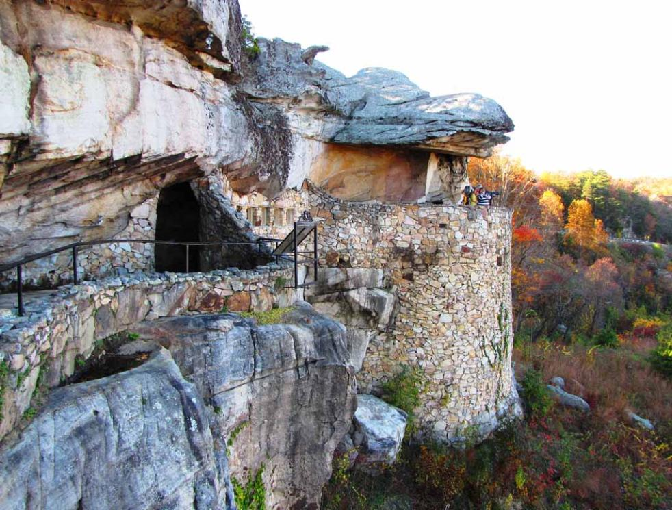 Amazing Lookout Mountain Rock City And Ruby Falls Cave At