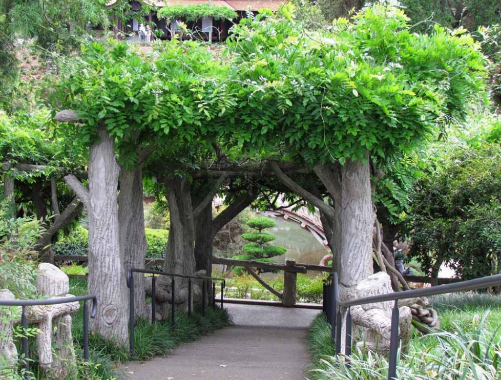 Huntington botanical gardens in san marino las angeles for Japanese garden entrance