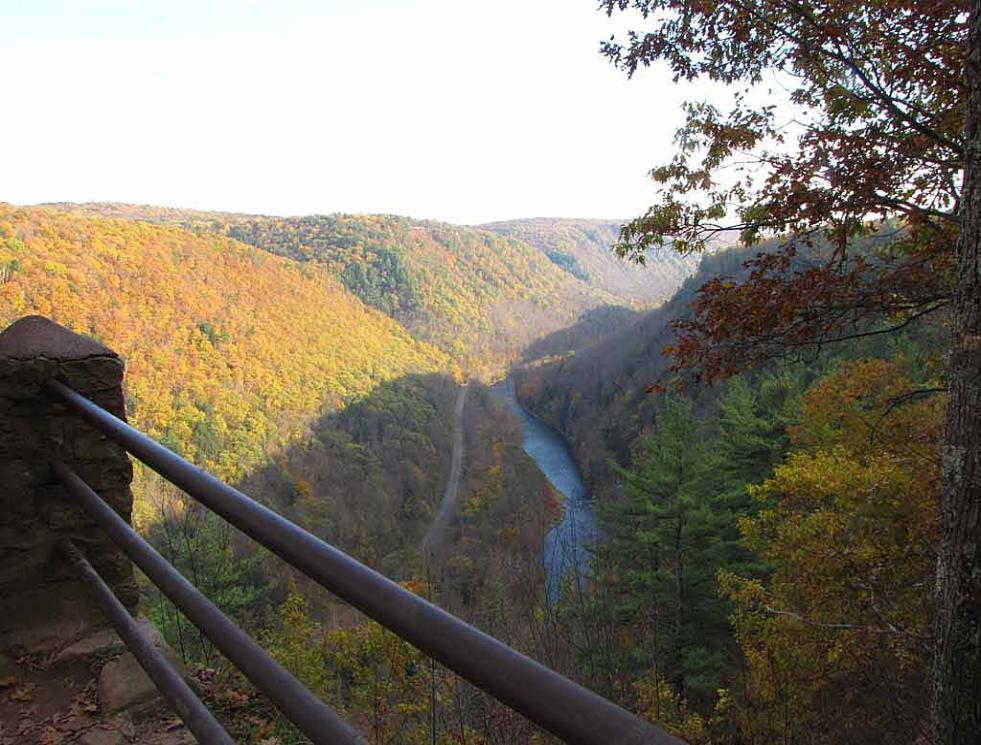 Autumn In Pine Creek Gorge Pennsylvania S Grand Canyon