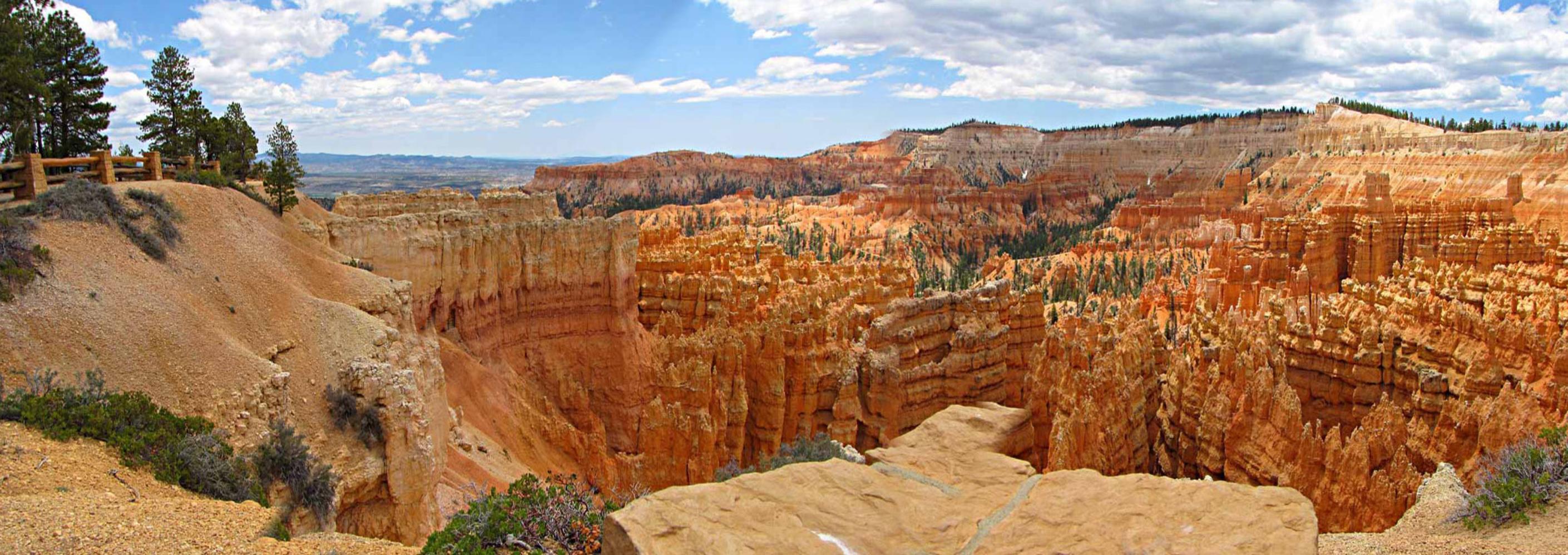 Bryce Canyon National Park In Utah Panoramic Views